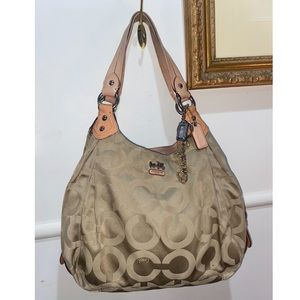 VINTAGE COACH BAG $250 Neg Perfect for y2k style Photo doesn't do it justice.